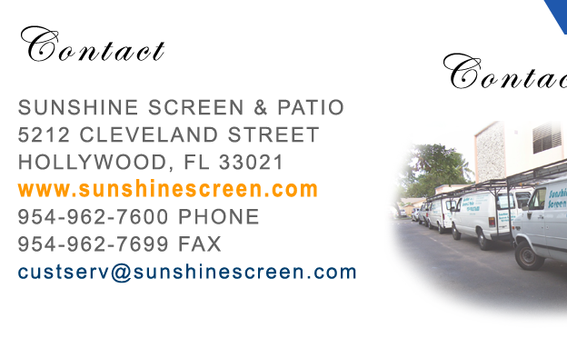 Sunshine Screen U0026 Patio